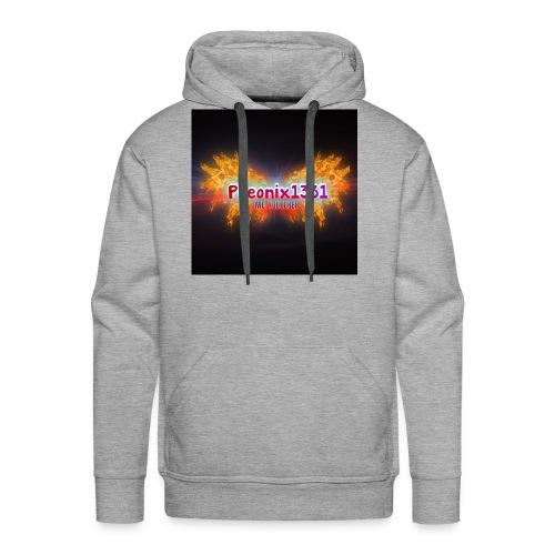 Flaming Pheonix YT - Men's Premium Hoodie