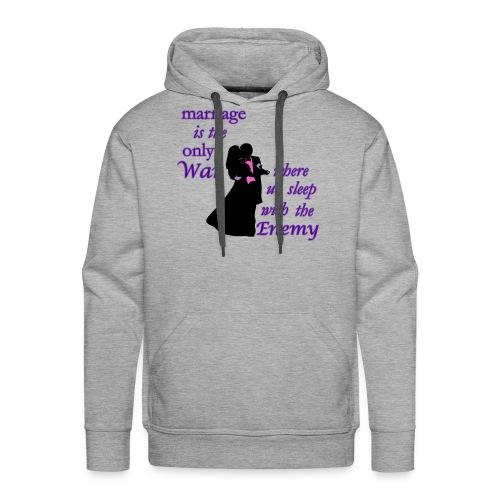 marriage_funny tshirts - Men's Premium Hoodie