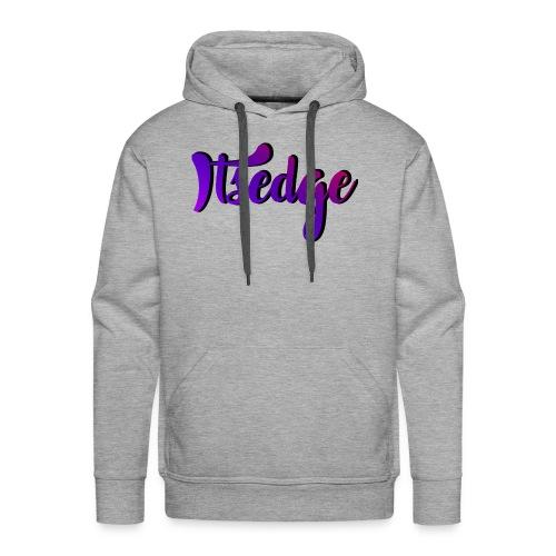 ItsEdge Signature Purple - Men's Premium Hoodie