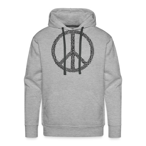 PEACE statement design - Männer Premium Hoodie