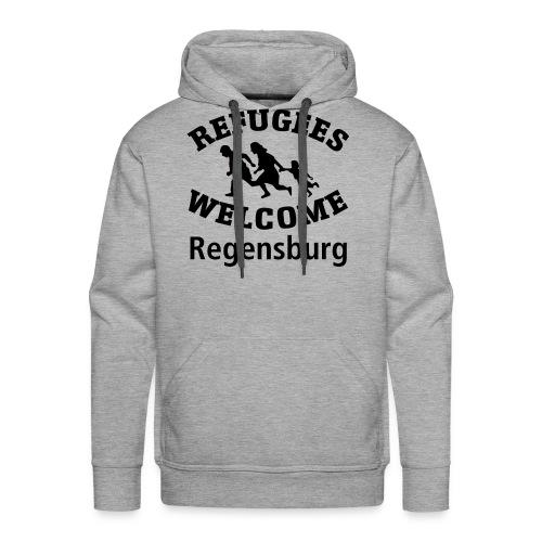 Refugees.Welcome.Regensburg - Männer Premium Hoodie