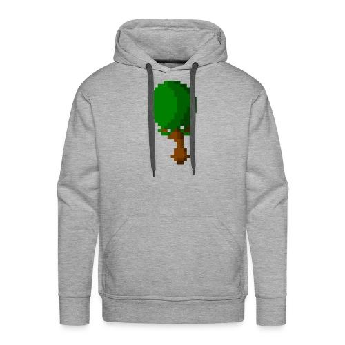 Happy Pixel Tree - Mannen Premium hoodie