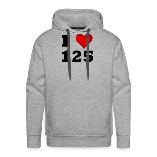 I Love 125 - Männer Premium Hoodie