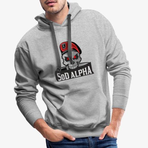 SoD ALPHA TEAM - Männer Premium Hoodie