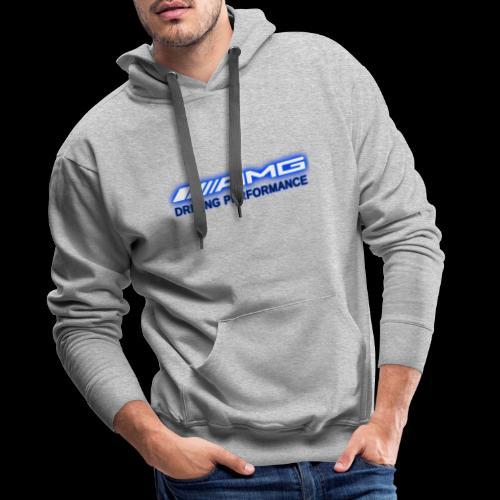 AMG Blue-Edition NEON - Männer Premium Hoodie