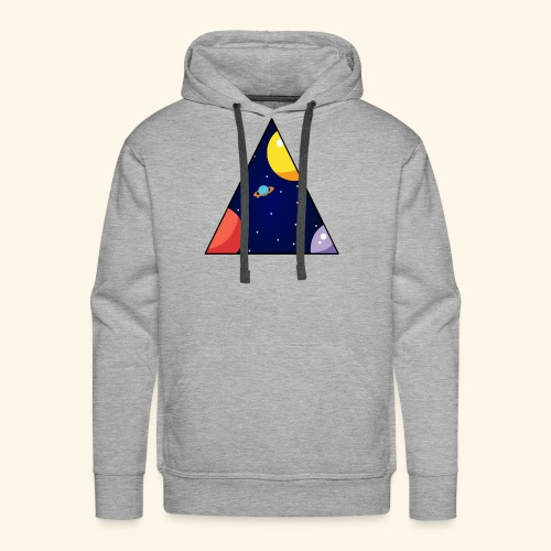 View From Space - Men's Premium Hoodie