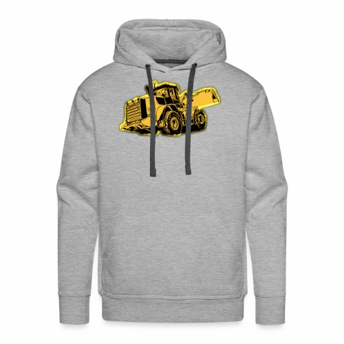 Wheel Loader - Men's Premium Hoodie