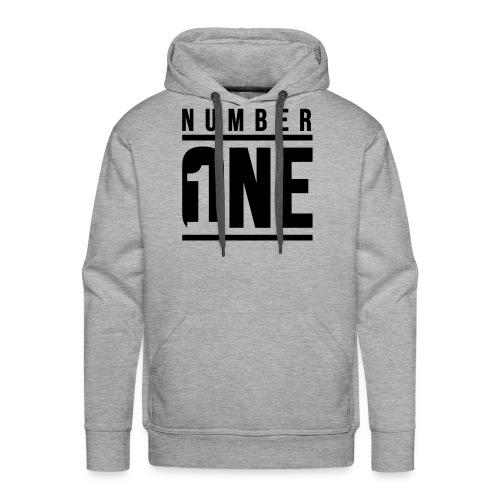 Number ONE - Sudadera con capucha premium para hombre