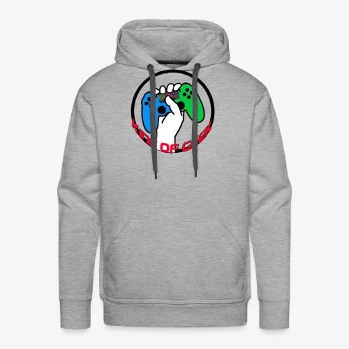 King 0f Geek - Sweat-shirt à capuche Premium pour hommes