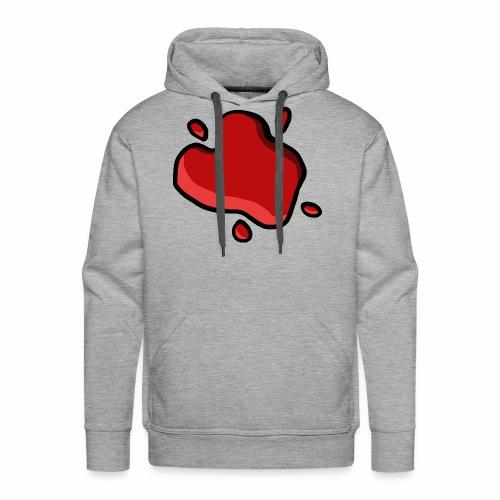 Tache de Ketchup - Sweat-shirt à capuche Premium pour hommes