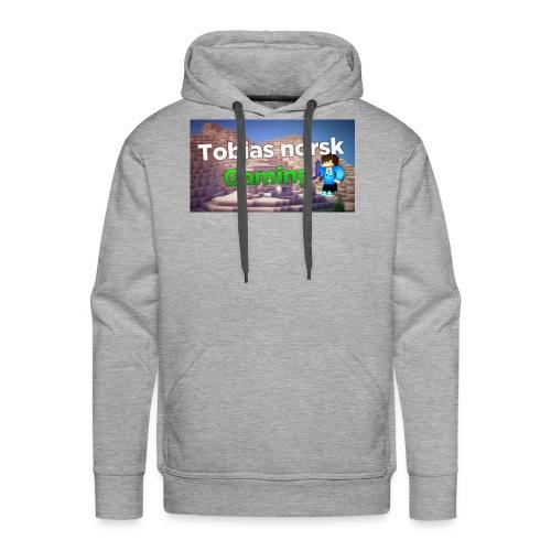 Tobias Norsk Gaming - Premium hettegenser for menn