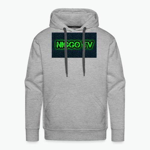 Niggo TV - Männer Premium Hoodie