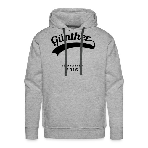 Günther Original - Männer Premium Hoodie
