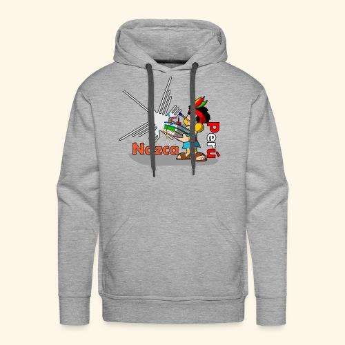 Nazca - Sudadera con capucha premium para hombre