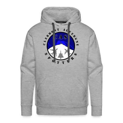 Logo CAS - Sweat-shirt à capuche Premium pour hommes