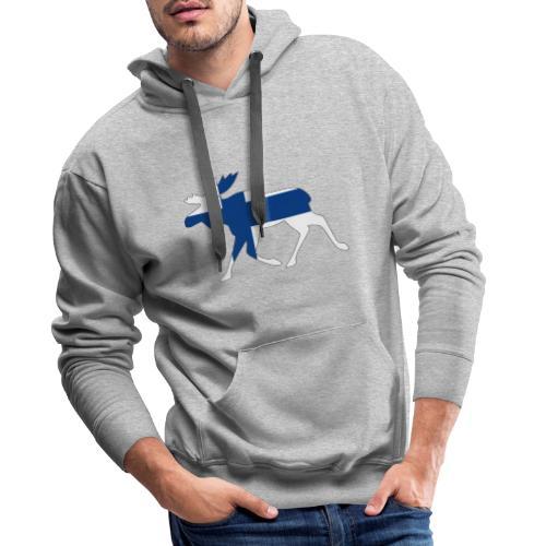 Finnland Elch - Männer Premium Hoodie