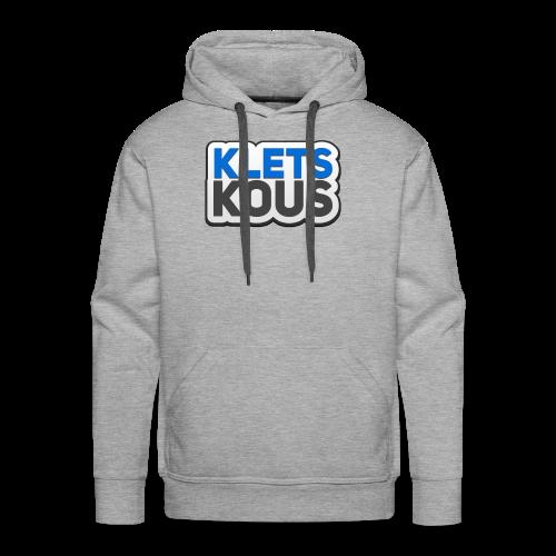Kletskous - Mannen Premium hoodie