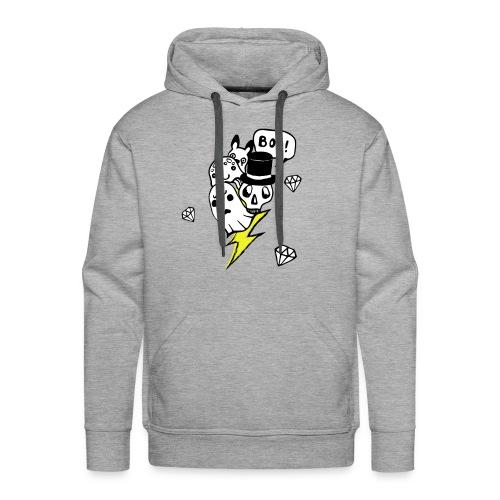 Boo! - Bluza męska Premium z kapturem