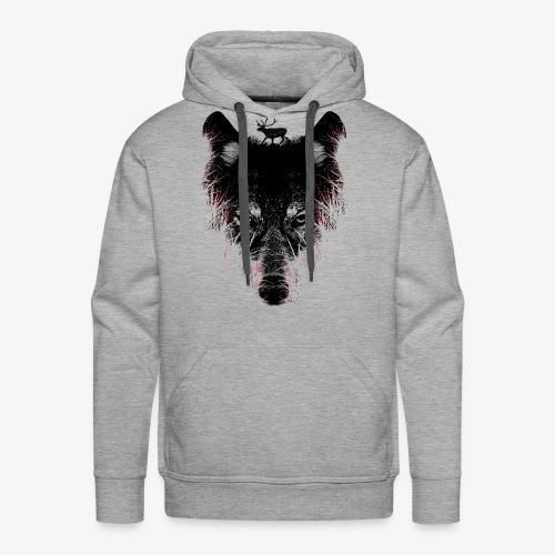 Wolfs - Sweat-shirt à capuche Premium pour hommes