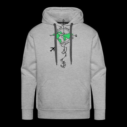 Reise shirt - die with memories, not with Dreams - Männer Premium Hoodie