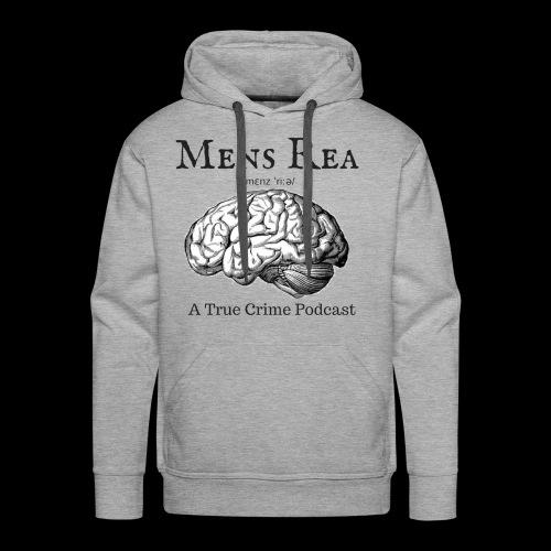 Guilty Mind Mens rea Logo - Men's Premium Hoodie