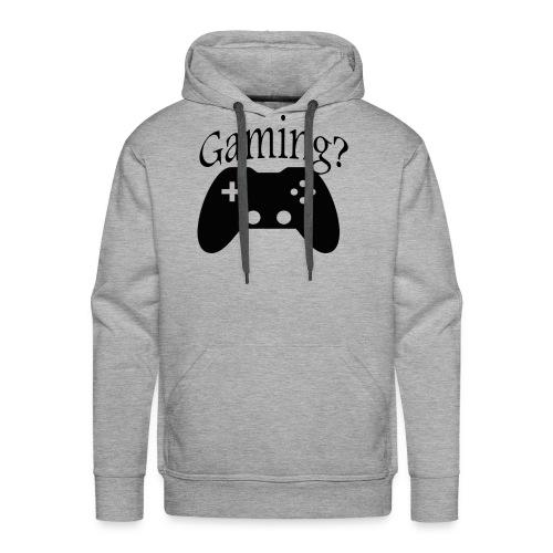 Gaming - Sweat-shirt à capuche Premium pour hommes