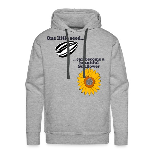One little seed - Men's Premium Hoodie