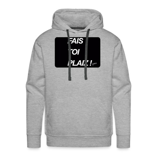 fais toi - Sweat-shirt à capuche Premium pour hommes