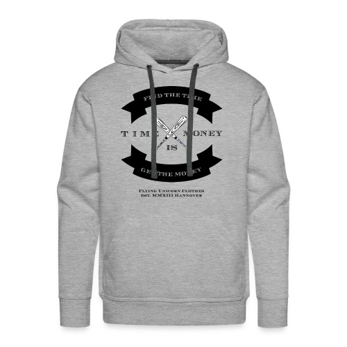 TIME IS MONEY - Männer Premium Hoodie