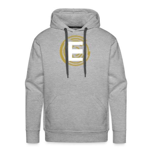 E-Campionato Semplice - Felpa con cappuccio premium da uomo
