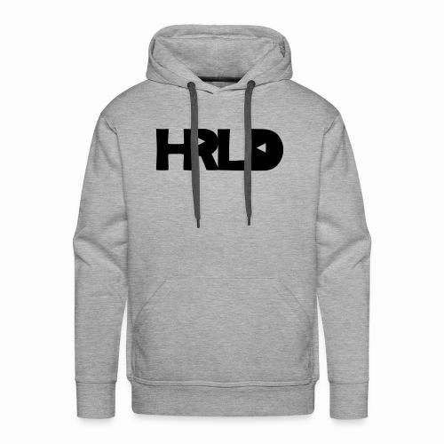 HRLD Black Logo - Miesten premium-huppari