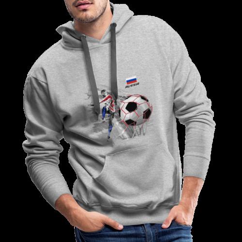 GP22F-04 RUSSIAN FOOTBALL TEXTILES AND GIFTS - Miesten premium-huppari