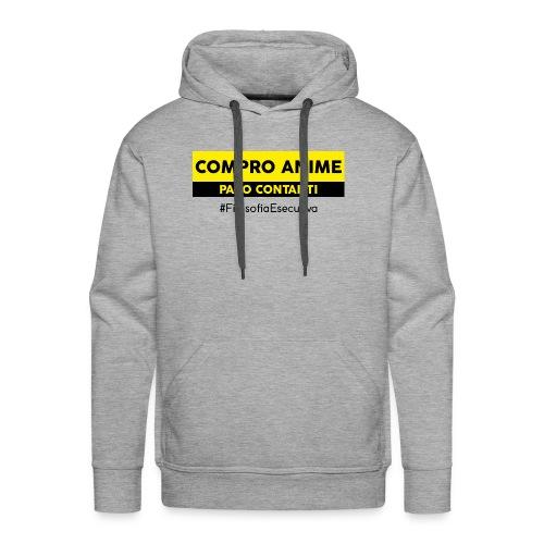 T-shirt Compro Anime - Felpa con cappuccio premium da uomo