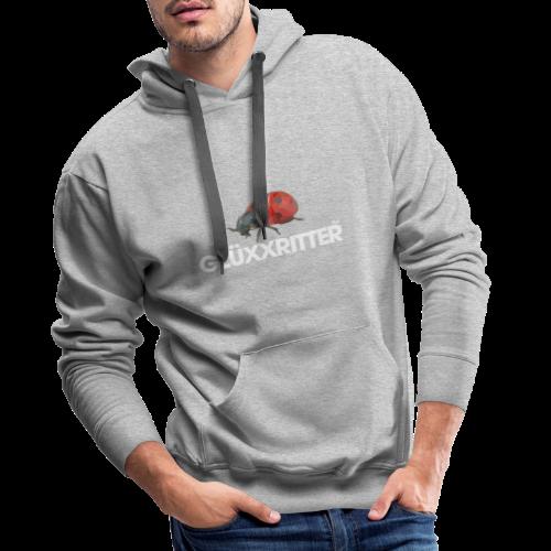 geweihbär GLÜXXRITTER - Männer Premium Hoodie