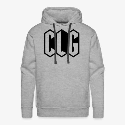 CLG DESIGN black - Sweat-shirt à capuche Premium pour hommes