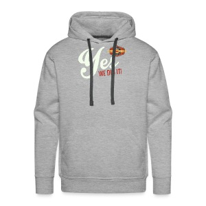YES-nappo_wh - Männer Premium Hoodie