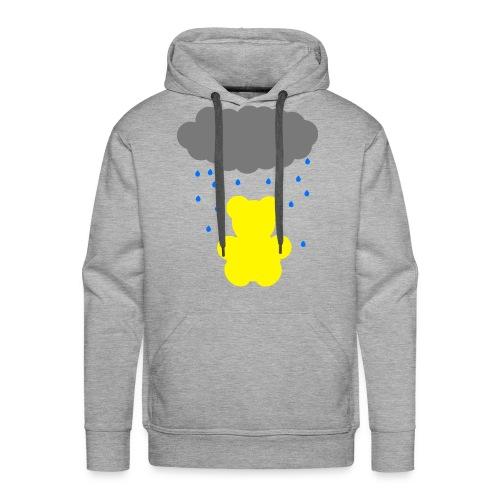 Carl im Regen | Teddy Geschenk Geschenkidee - Männer Premium Hoodie