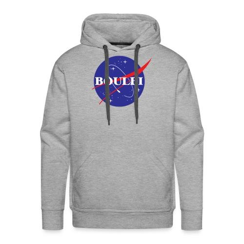 BOULBI ORIGINAL - Nasa - Sweat-shirt à capuche Premium pour hommes