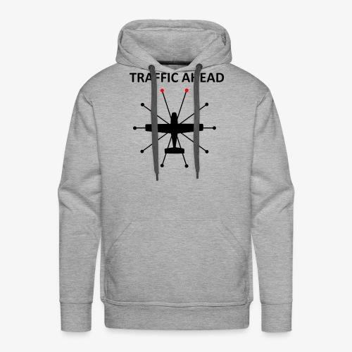 Traffic Ahead - Anticollision - Sweat-shirt à capuche Premium pour hommes