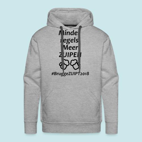 Brugge ZUIPT - Mannen Premium hoodie