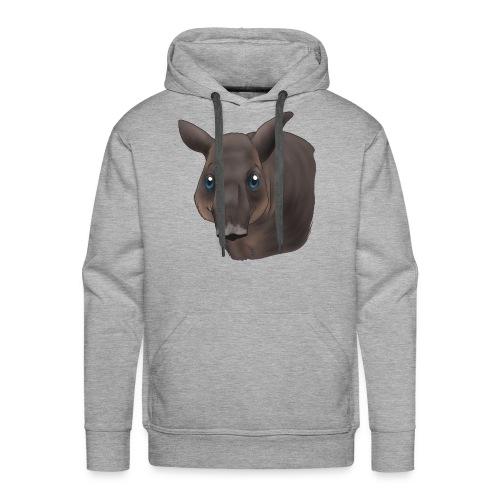 Tapir Portrait - Männer Premium Hoodie
