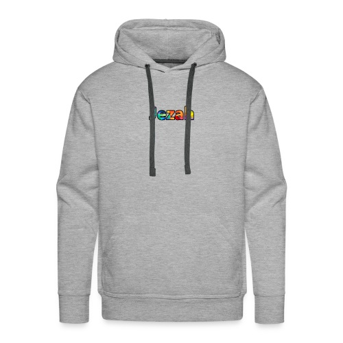 jezah merch text - Men's Premium Hoodie
