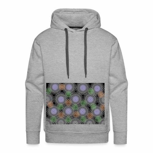 Floral illusion - Men's Premium Hoodie