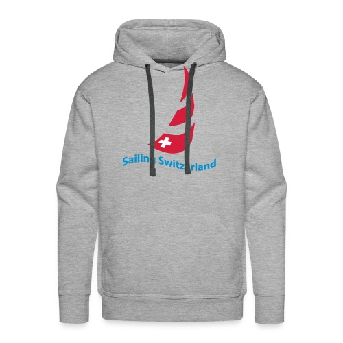 logo sailing switzerland - Männer Premium Hoodie