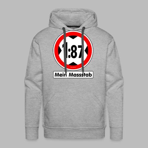 1:87 Mein Massstab - Männer Premium Hoodie