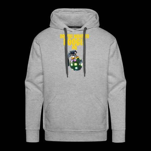 BOOGIE - Mannen Premium hoodie