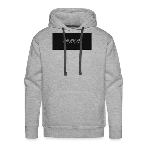 Finley plays merch - Men's Premium Hoodie
