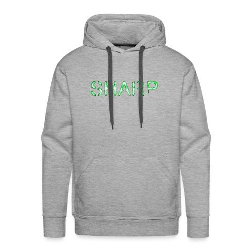 Sharp Clan grey hoodie - Men's Premium Hoodie