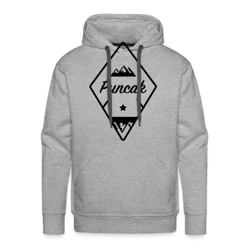 Puncak logo - Mannen Premium hoodie