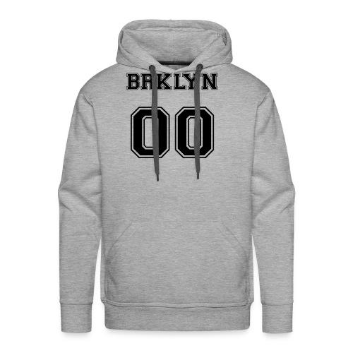 BRKLYN 00 - Felpa con cappuccio premium da uomo